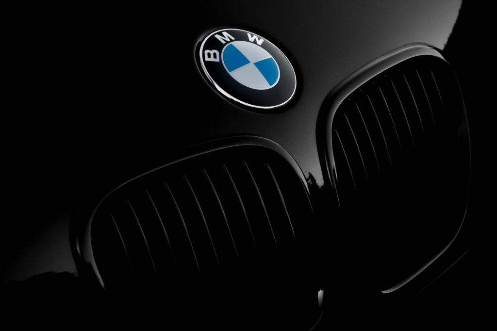 BMW logo, a type of expensive car.
