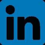 LinkedIn icon.